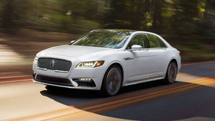 2017 Lincoln Continental MSRP