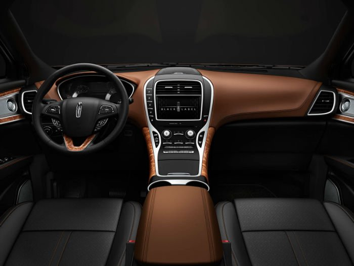 2017 Lincoln MKC Black Label Interior