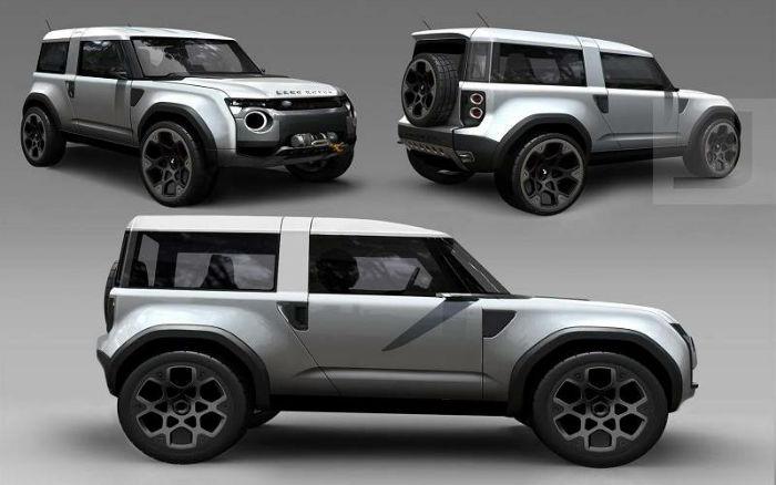 2017 Range Rover Defender Changes