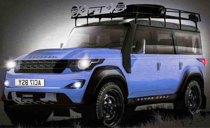 2017 Range Rover Defender Colors