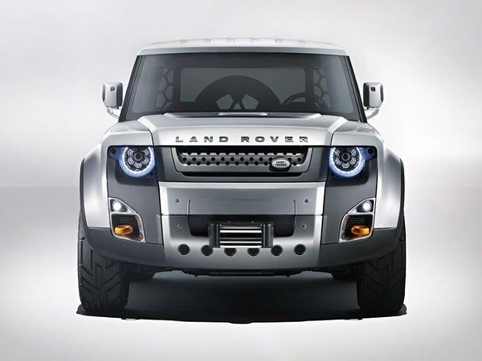 2017 Range Rover Defender Facelift