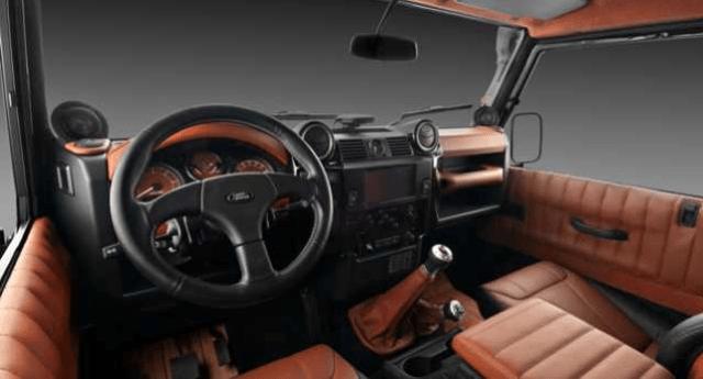 2017 Range Rover Defender Interior