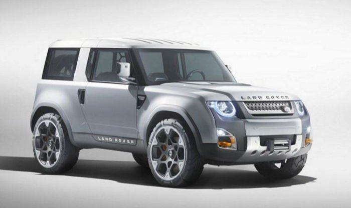 2017 Range Rover Defender Model
