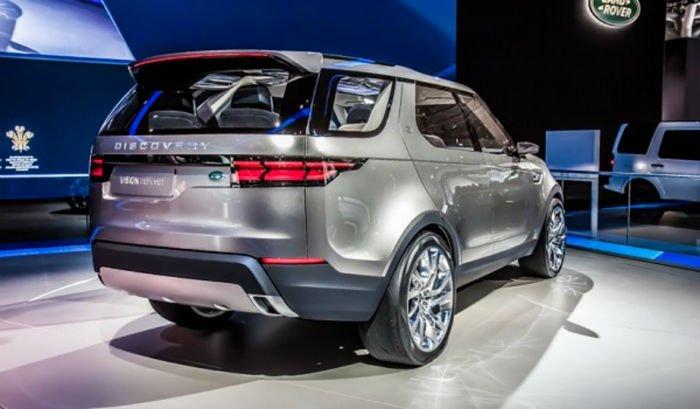2017 Range Rover Discovery Sport Exterior