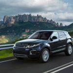 2017 Range Rover Evoque Black