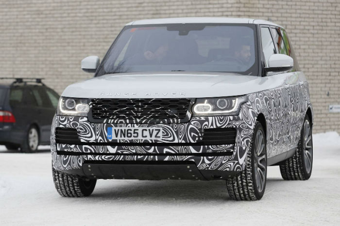 2017 Range Rover Vogue Spy Shots