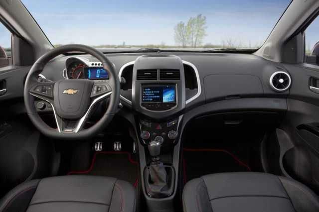 Chevrolet Spark 2017 Interior