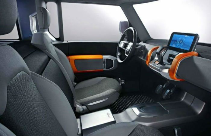 Land Rover Defender 2017 Interior