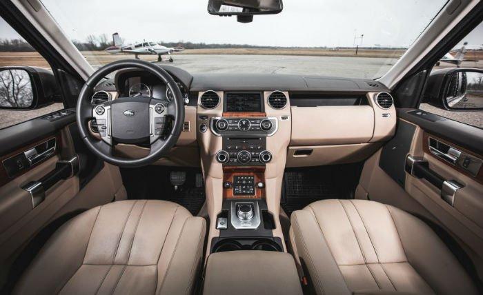 Range Rover 2017 Interior