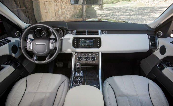 Range Rover Evoque 2017 Interior