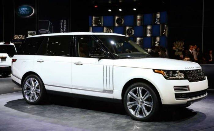 Range Rover Sport 2017 White