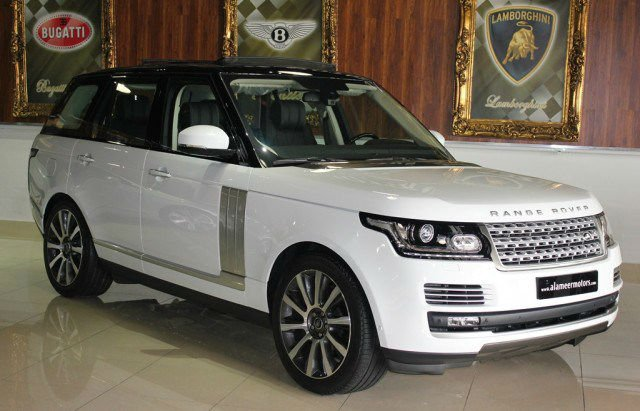 Range Rover Vogue 2017 Changes