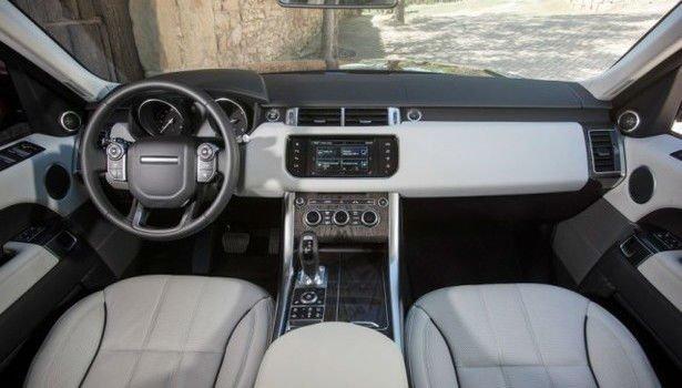 Range Rover Vogue 2017 Interior