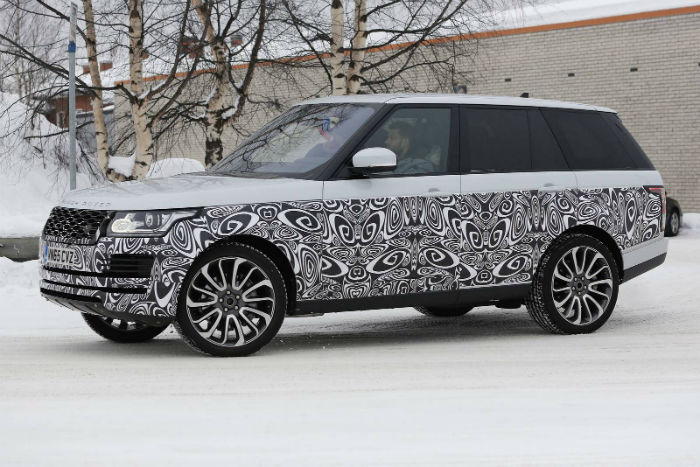 Range Rover Vogue 2017 Spy Shots
