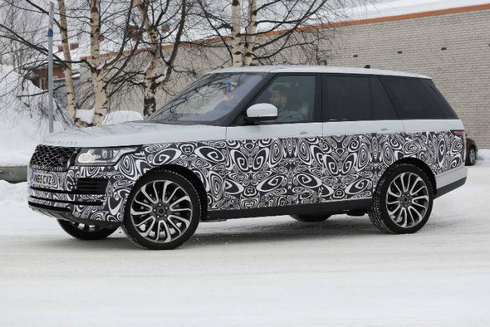 Range Rover Vogue 2017 Spy Shots
