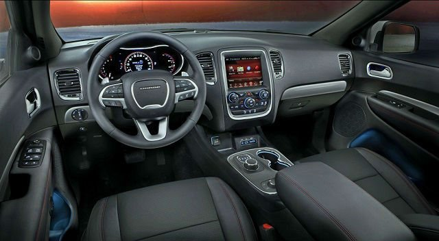2017 dodge durango interior - Dodge durango 2017 interior pictures ...