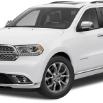 2017 Dodge Durango SXT White