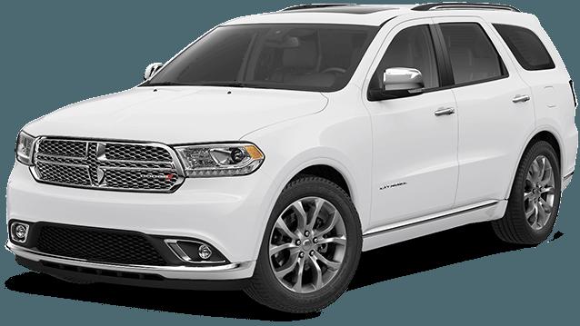 2017 Dodge Durango Sxt White