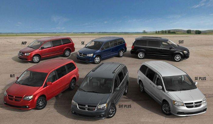 2017 Dodge Grand Caravan Colors