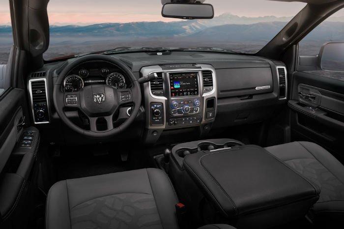 2017 Dodge Power Wagon Interior