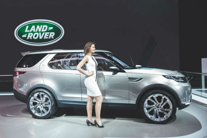 2017 Land Rover Discovery Sport Model