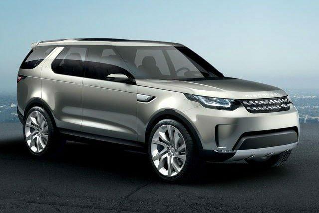 2017 Land Rover LR4 Concept