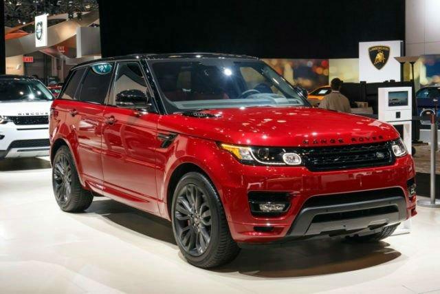 2017 Land Rover Range Rover MSRP