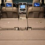2017 Lexus GX 460 Cargo Space