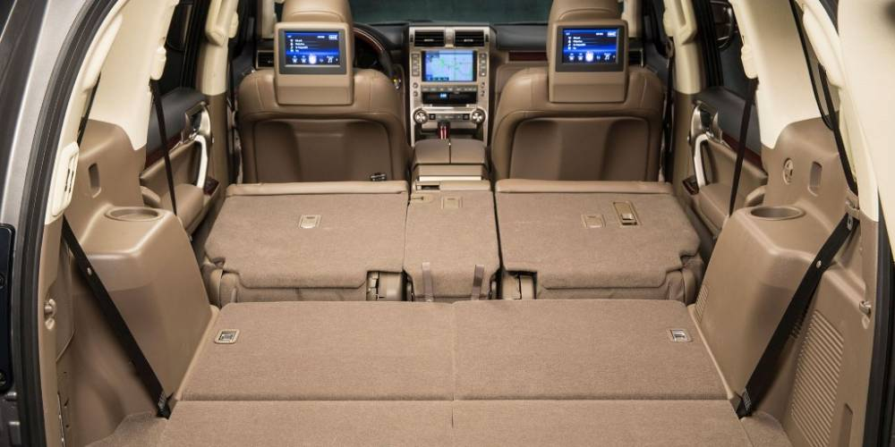 2017 lexus gx 460 cargo space. Black Bedroom Furniture Sets. Home Design Ideas