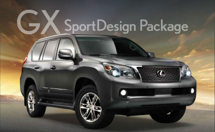 2017 Lexus GX 460 Sport Design Package