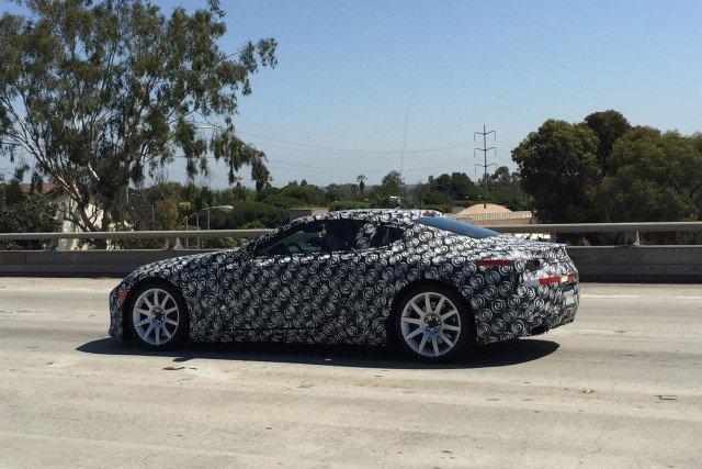 2017 Lexus LS Spy Shots