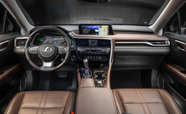 2017 Lexus LX Interior