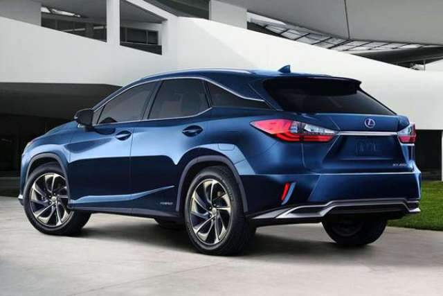 2017 Lexus RX Colors