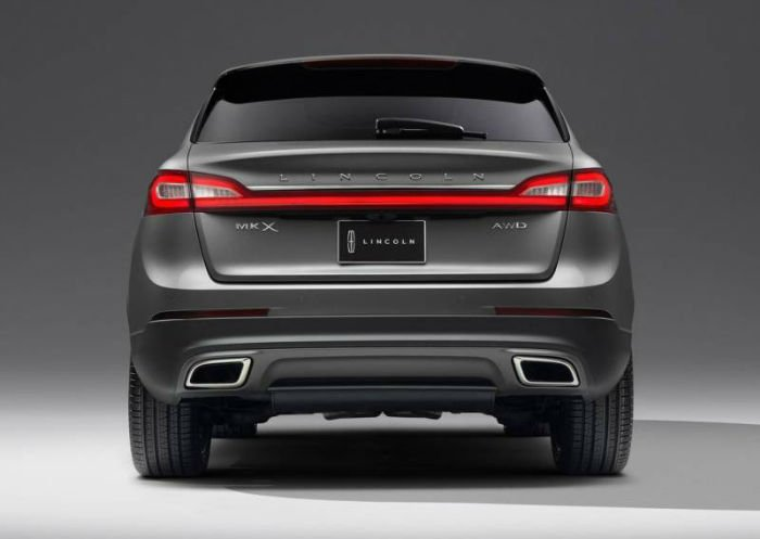 2017 Lincoln MKX Exaust