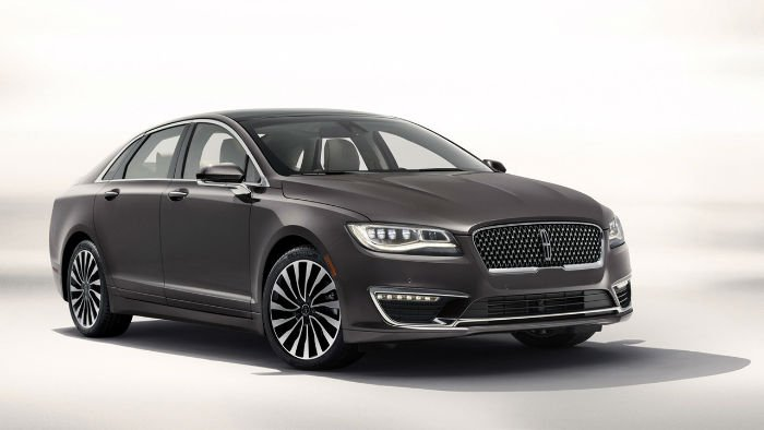 2017 Lincoln MKZ Black Label Model