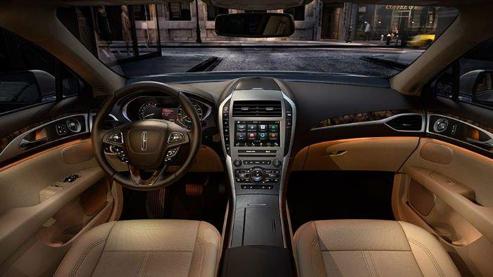 2017 Lincoln MKZ Hybrid Interior
