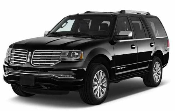 2017 Lincoln Navigator Black
