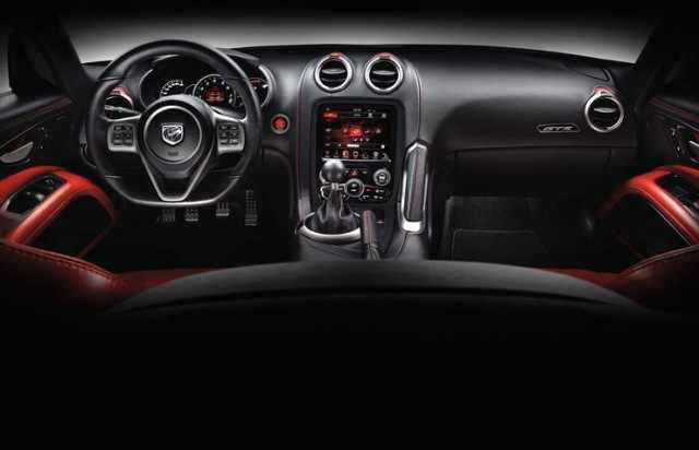 Dodge Viper 2017 Interior