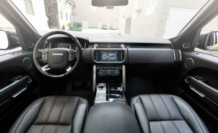 Land Rover Discovery 2017 Interior