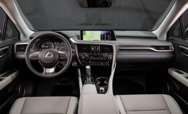 Lexus GS 2017 Interior