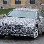 Lexus LS 2017 Spy
