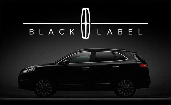 Lincoln Black Label Logo