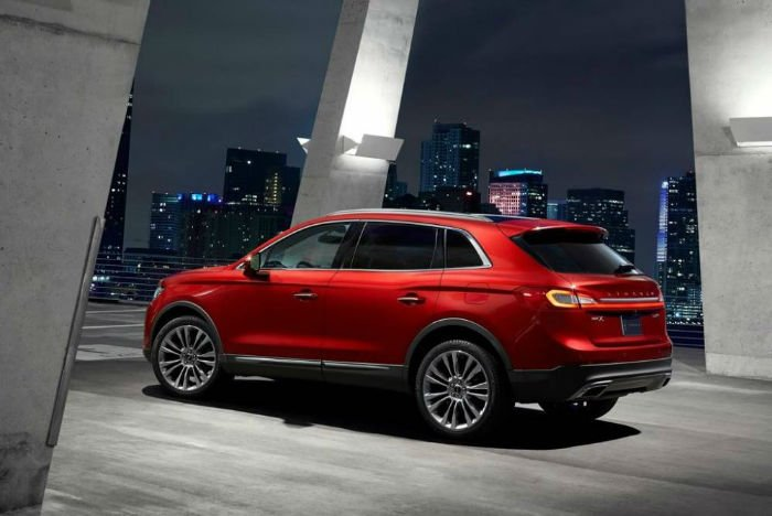 Lincoln MKX 2017 Redesign
