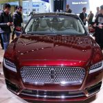 Lincoln MKZ 2017 Red Facelift