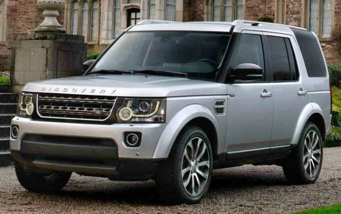 New Land Rover LR4 2017