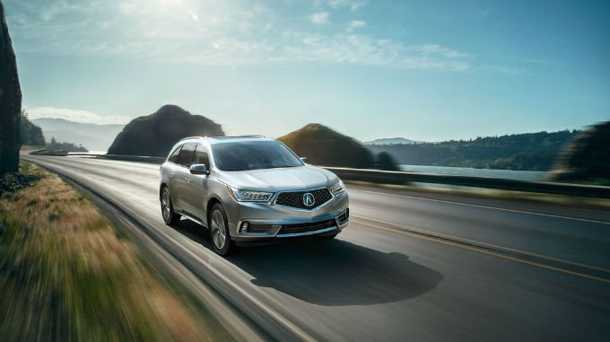 2018 Acura MDX Ocean Highway Wallpaper