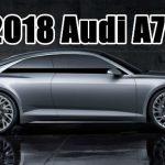 2018 Audi A7 Model