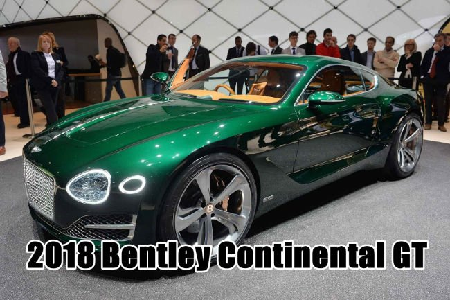 2018 Bentley Continental GT Model