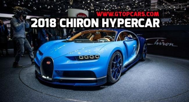2018 Bugatti Chiron Hypercar