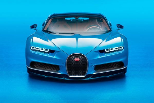 2018 Bugatti Chiron Top Speed